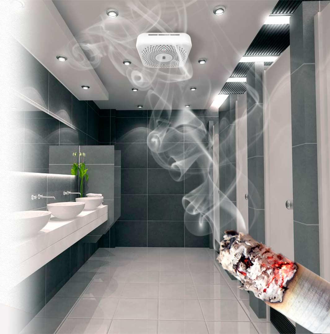 Система оповещения о курении в неположенных местах